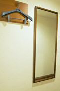 各部屋等身ミラー設置