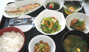 沖縄長寿朝食(和食)・レストラン蘭(ホテルシーサーイン内)